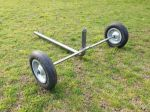 Easy to use, portable, agricultural sprinkler cart
