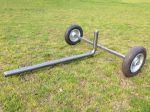 "DuCaR 1.5"" wheeled cart for portable irrigation systems"