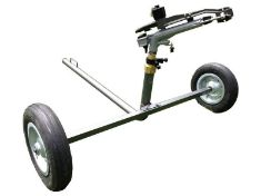 DuCaR Atom 35 portable perfect uniformity high flow sprinkler with wheeled cart