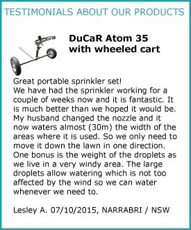 Ducar Atom 35 with cart Feedback