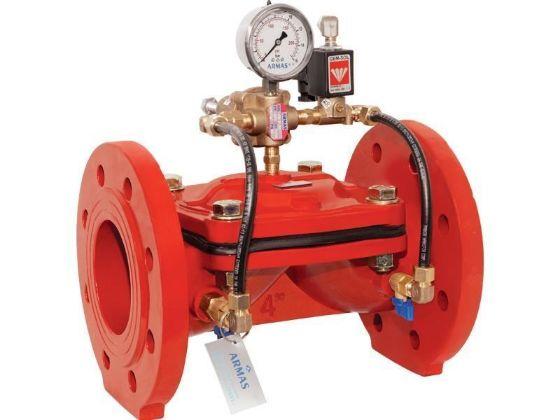 600 series Solenoid controlled pressure reducing valve