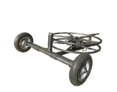 DuCaR 2 Wheeled Sprinkler Cart With Hose Reel
