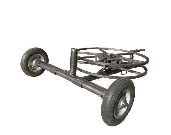 DuCaR 2 Wheeled Sprinkler Cart With Hose Reel