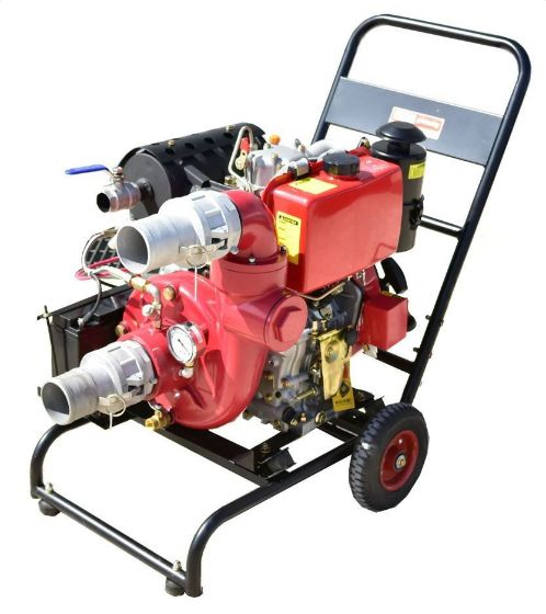 Omega 10 HP Diesel Engine Powered Water Pump