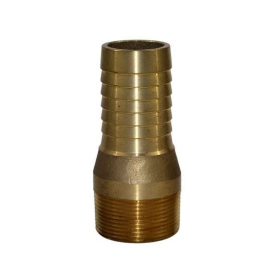 Brass Threaded Combination Nipple and Hose Barb