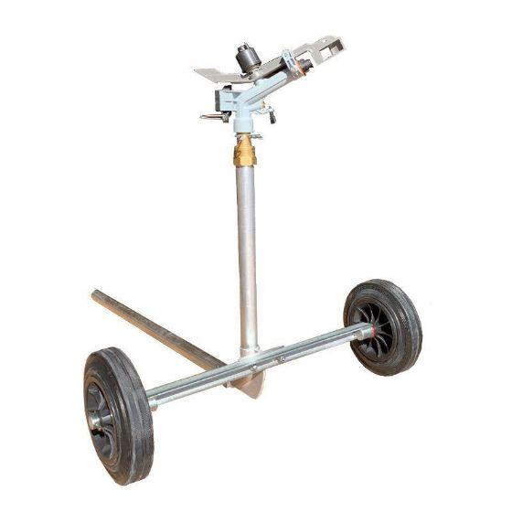 DuCaR Atom 22 Sprinkler with heavy duty wheeled cart