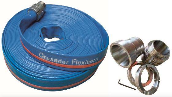 Flexibore 150 Layflat Bore Hose With Attachment