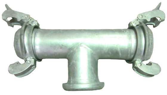 Bauer-Type-T-Piece-Male-Male-Female-Coupling