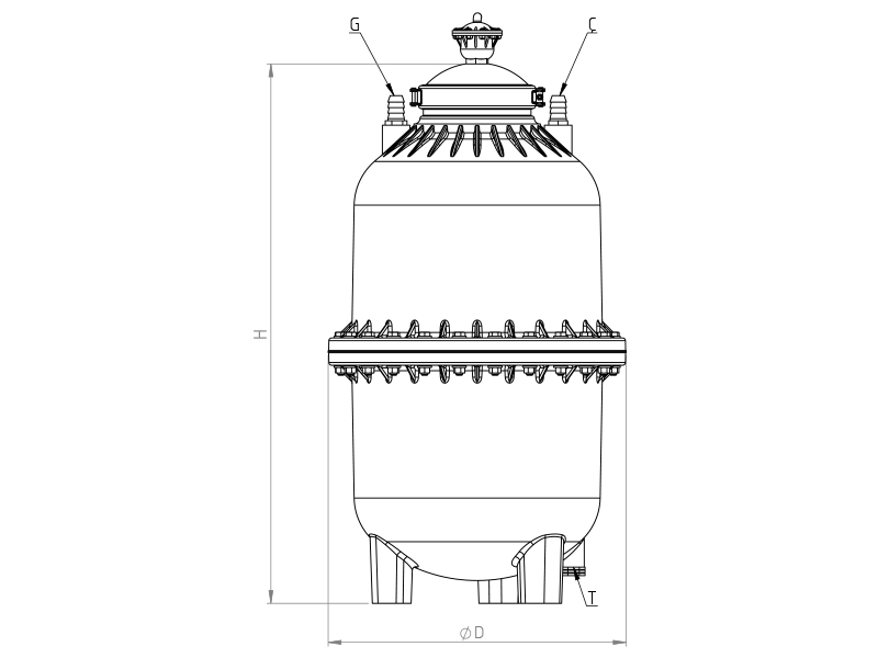 Plastic-fertilizer-technical-drawing